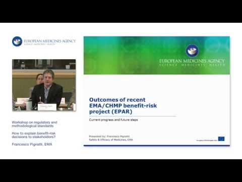 3.2 Outcomes of recent EMA/CHMP benefit-risk project (EPAR)