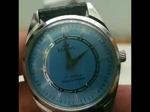 82675b7b712 Unboxing Fortis Vintage Watch Manual Wind