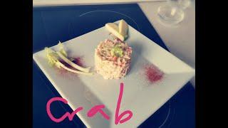 Салат из камчатского краба с луком порей!) Kamchatka Crab and leek salad!!!  AshAni Cooking&English