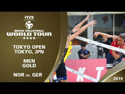 Men's Gold Medal: NOR Vs. GER   4* Tokyo (JPN) - 2019 FIVB Beach Volleyball World Tour