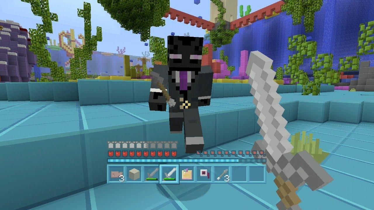 minecraft xbox - bubble panic - hunger games w/iballistic squid