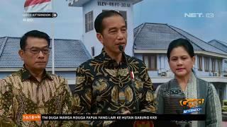 Presiden Jokowi dan Istri Besuk Ibu Ani Yudhoyono ke Singapura