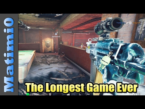 The Longest Game Ever - Rainbow Six Siege