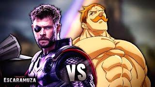 Thor vs Escanor RAP | Escaramuza - Keyto