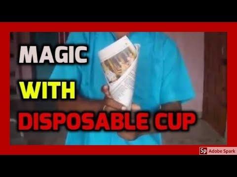 MAGIC TRICKS VIDEOS IN TAMIL #417 I DISPOSABLE CUP @Magic Vijay