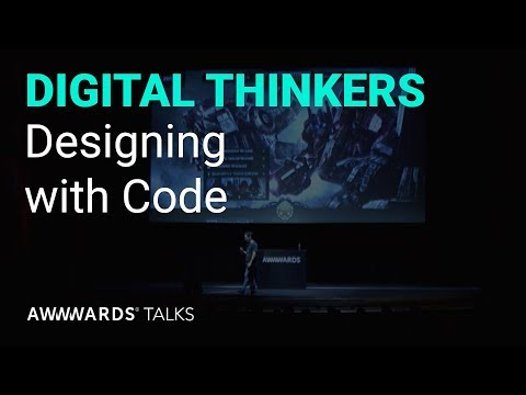 Andy Thelander from Active Theory - Designing with Code at Awwwards LA
