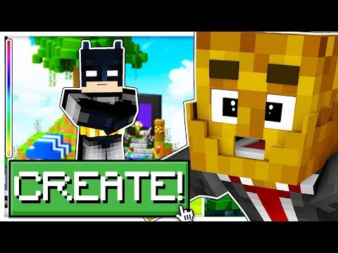 Minecraft: JUSTICE LEAGUE LUCKY BLOCK *SKY WARS!* - Modded Mini-Game