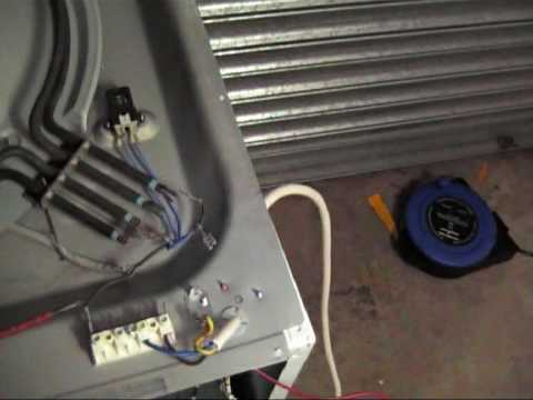 How to Replace a Whirlpool Tumble dryer Heating Element  YouTube
