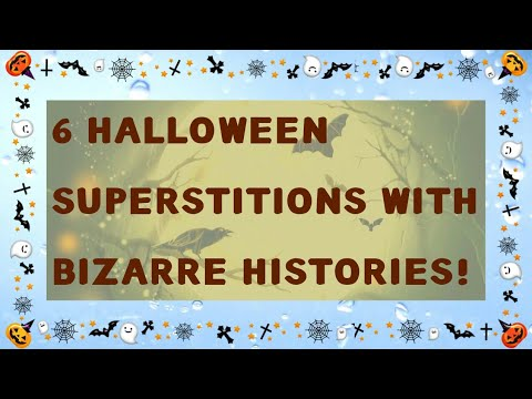 6 Halloween Superstitions With Bizarre Histories! 👹👺👽💀🐱