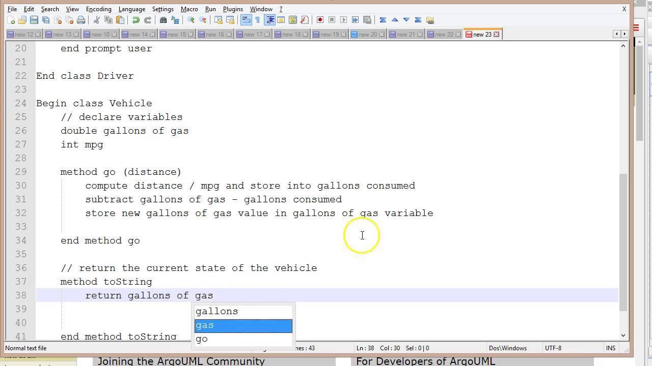Pseudocode, Visio, ArgoUML: Tools for Java Program Design ...