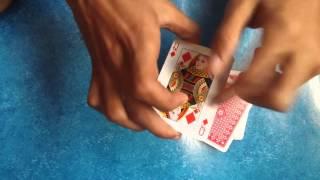 The Four Aces Magic Trick REVEAL:خدعة الاربع ايسااات الحل ENG Sub