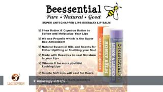 beessential lip balm collection