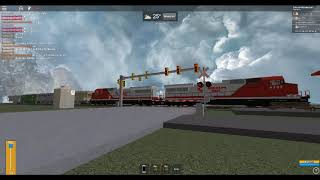 ROBLOX Robloxian Rail Ex-AWVR 777 & 767 4389 and 4388