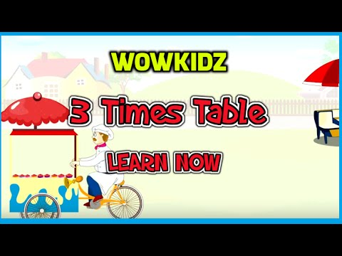 Number Names Worksheets learning 3 times tables : Detail for 3 TIMES TABL