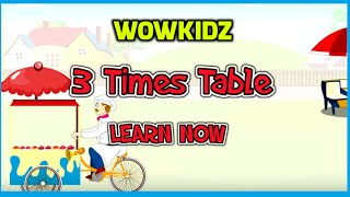 Musical Tables - 3 Times Table - HD