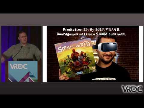 VR Prediction #23: VR/AR Boardgames Hundred Million Dollar Business in 2025