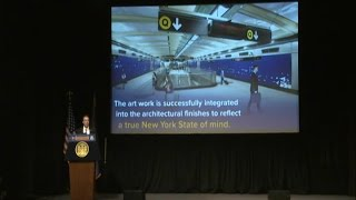 Governor Cuomo Presents Largest Permanent Public Art Installation in New York History