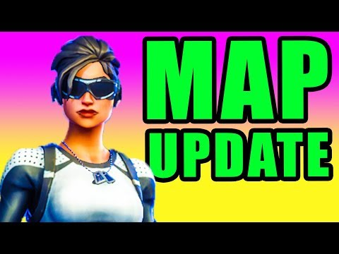NEW Map Update! 🔥 Fortnite Fortnite Battle Royale New Map PC Gameplay