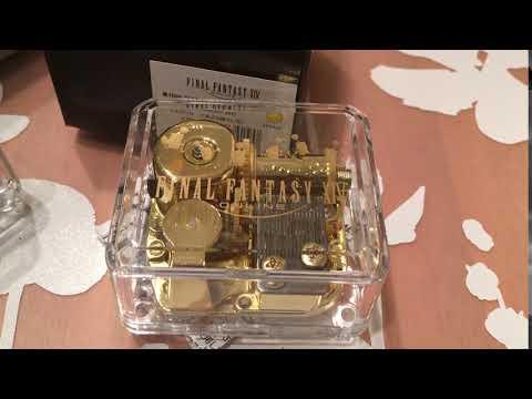 Final Fantasy XIV Music Box Gold