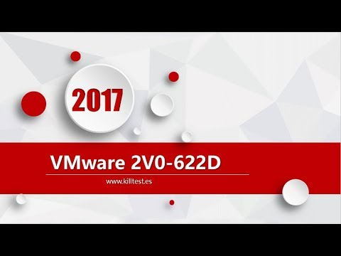 VMware VCP6.5-DCV 2V0-622D latest exam questions