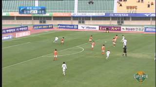 2012 K리그 38R 강원FC vs 대전시티즌 하이라이트