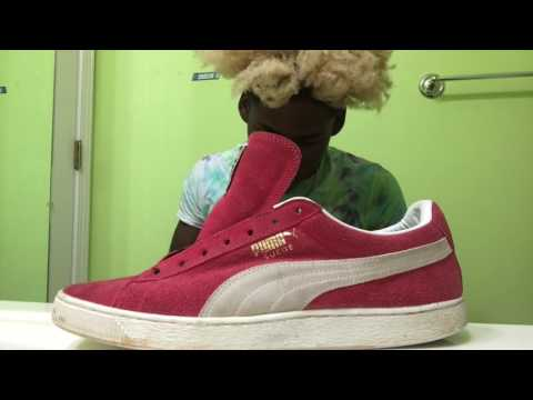DMacs Suede Pumas-With Reshoevn8r