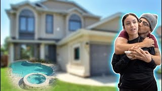 OUR BRAND NEW EMPTY HOUSE TOUR !!!