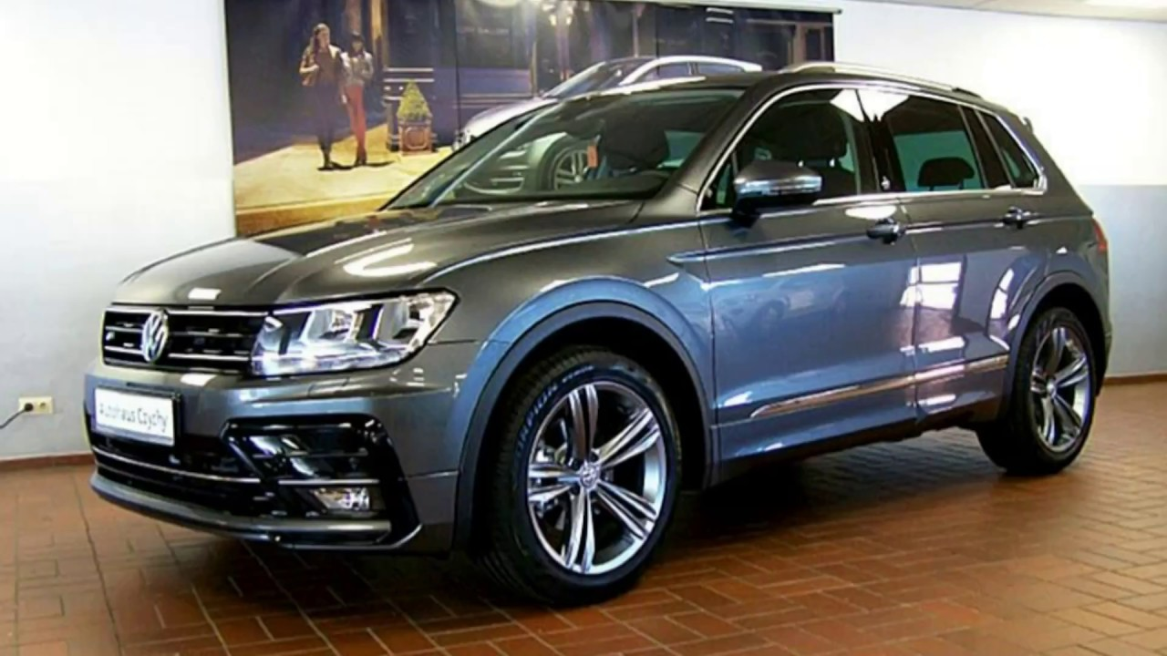 volkswagen tiguan 1 4 tsi sound r line jw324590 indiumgrau metallic autohaus czychy youtube. Black Bedroom Furniture Sets. Home Design Ideas