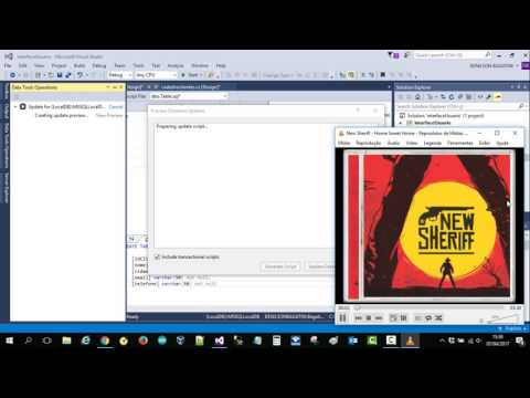 how to connect access database 2017 in visual studio 2015