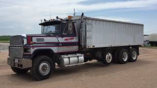 1982 Ford LTL 9000 selling on BigIron Online Auction 8-17-2016 CW9764