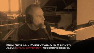 BEN SIDRAN - EVERYTHING IS BROKEN - album Dylan Different
