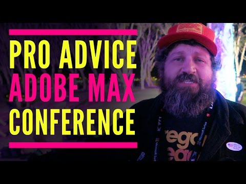 Professional Advice from Adobe MAX Conference (Aaron Draplin, Sara Dietschy, Shae Lewis,  and more)