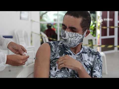 Arapiraca encerra vacinação de grupos prioritários e reduz idade dos imunizados