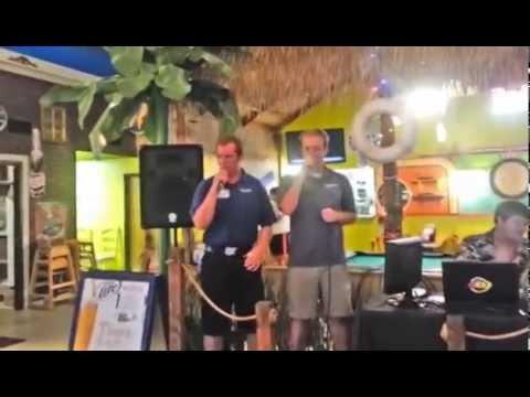 Family Karaoke at the Burger Barge part 2