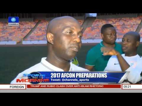 Samson Siasia Speaks On 2017 AFCON Preparations