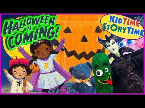 Halloween is Coming 🎃 Read Aloud Book for Kids
