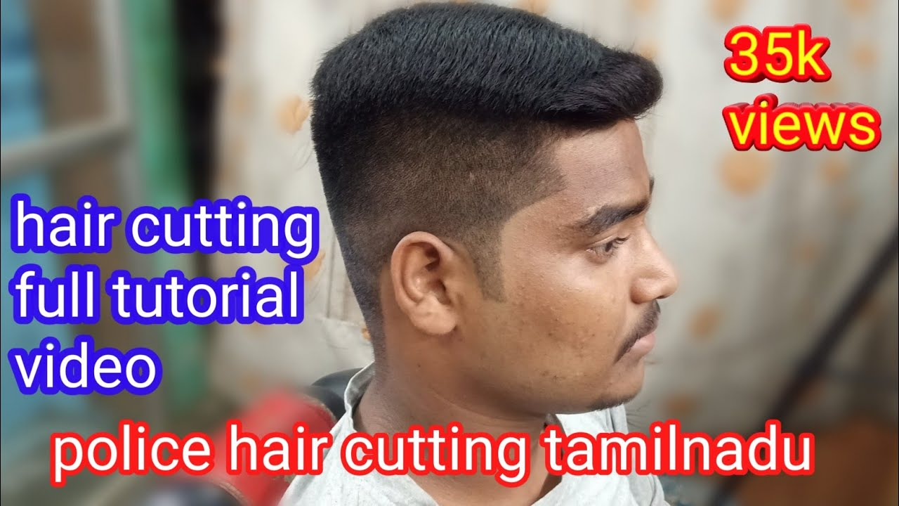 Police Cutting Hairstyle Tamil Nadu Youtube