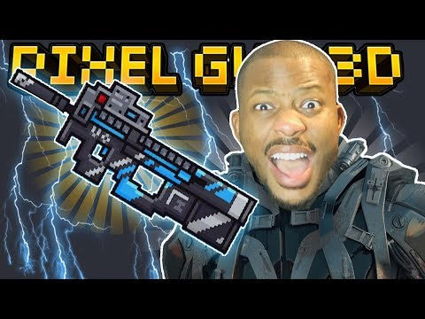 FUTURE POLICE RIFLE IS OP!! | Pixel Gun 3D