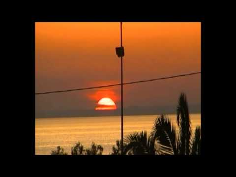 il tramonto della spiaggia di sant' isidoro.