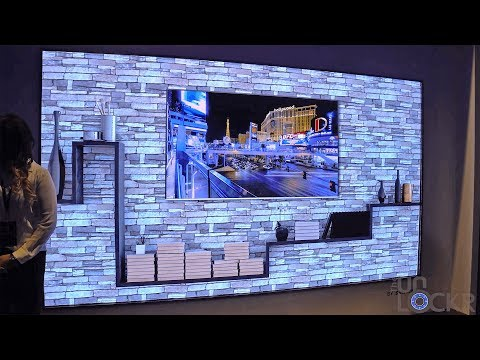 Samsung's 'The Wall' TV & Their New 8K Upscaling TV