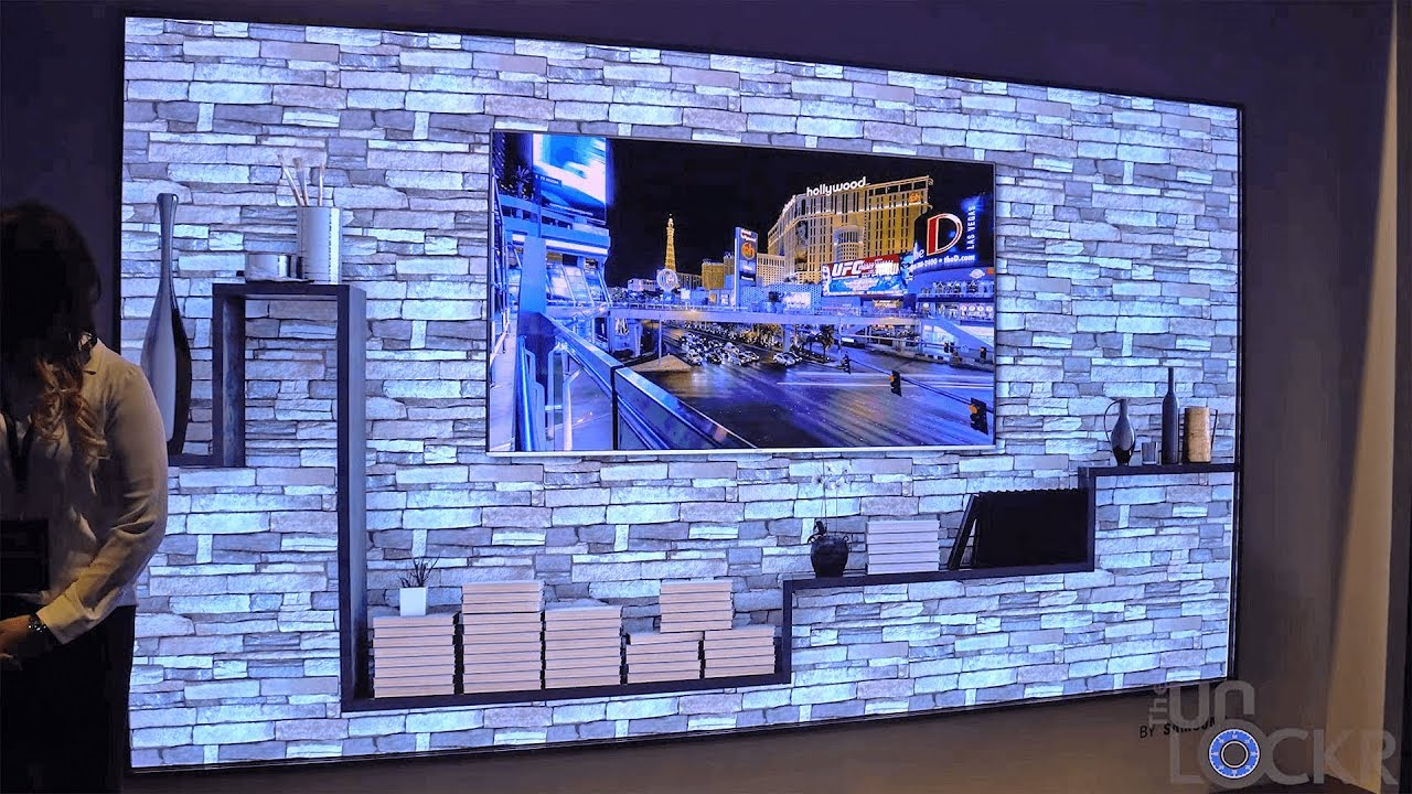 """Samsung's """"The Wall"""" TV & Their New 8K Upscaling TV - YouTube"""