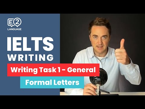 IELTS General Writing Task 1: Formal Letters | ALL THE WAY TO IELTS 9 with Jay!