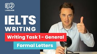 IELTS General Writing Tąsk 1: Formal Letters | ALL THE WAY TO IELTS 9 with Jay!