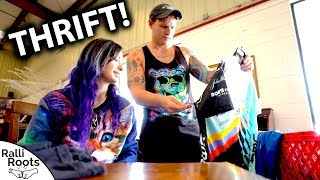 Thrift Shopping With Ralli (Goodwill & Salvos Haul)