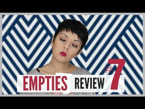 EMPTIES ( Review ) - 1 FAIL Product ! | Black Jo White