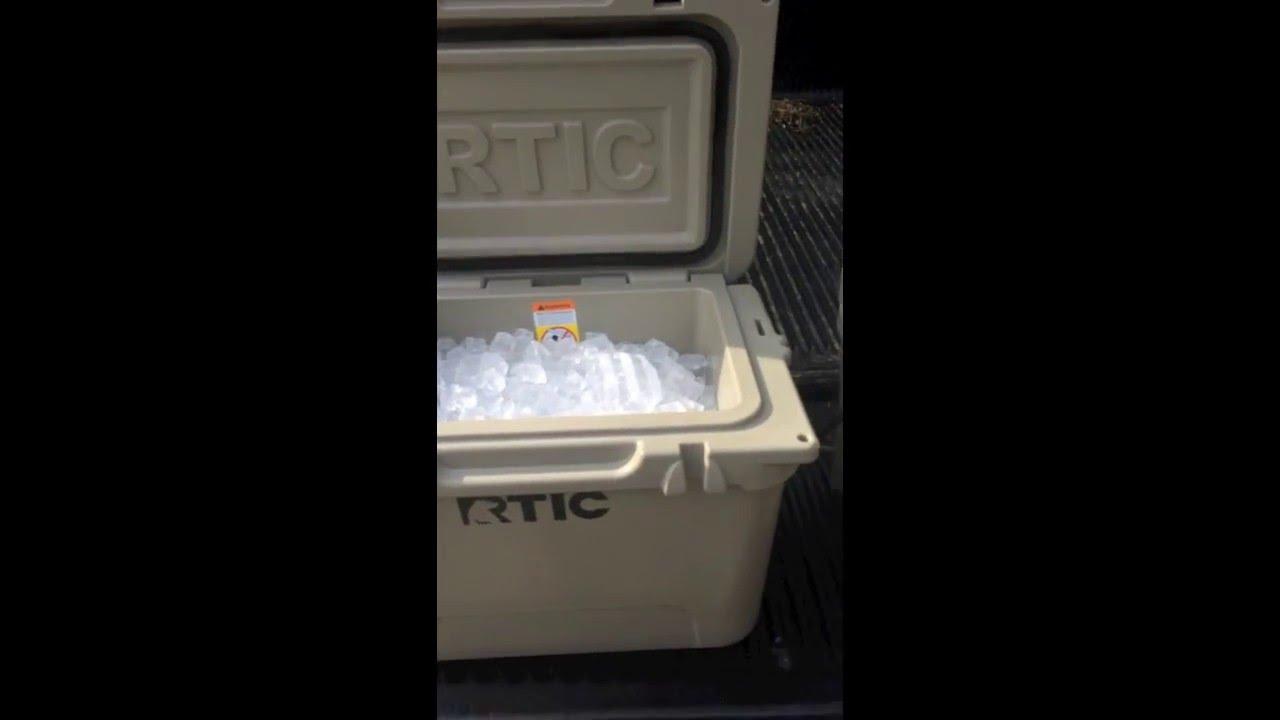 Yeti Vs Rtic Ice Test Youtube