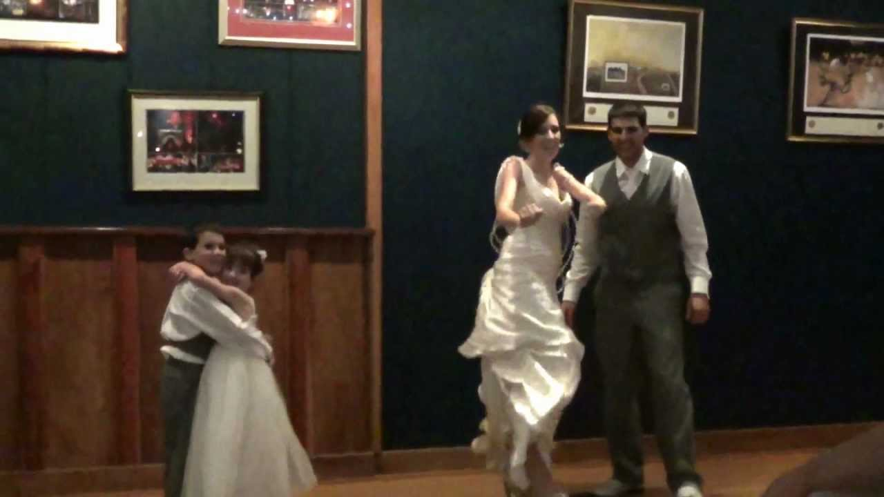 Our Funny Surprise Family Wedding Dance With Our Kids LMFAO Adam Sandler Baby Got BackMTS