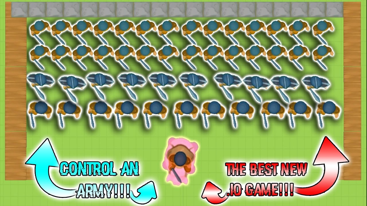 Controlling An Army The Best New Io Game Glor Io