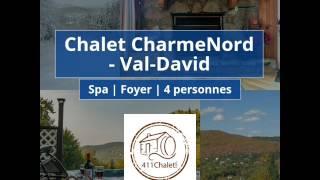 Chalet a louer - CharmeNord - Val-David