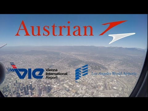 TRIPREPORT | Vienna - Los Angeles | Austrian Airlines (BUSINESS CLASS) | Boeing B777-200ER